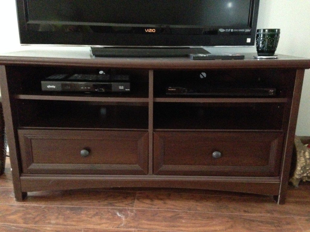TV Stand Front Reference